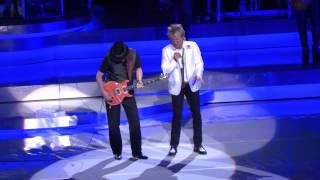 Download Rod Stewart & Santana Perform Live In Las Vegas Video