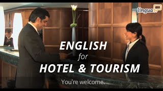 Download Learn English for Hotel and Tourism: ″Checking into a hotel″   English course by LinguaTV Video