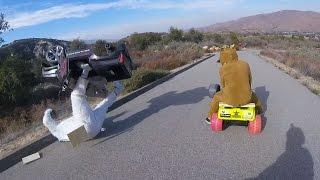 Download Extreme Downhill Powerwheels Battle Video