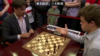 Download Alexander Morozevich Checkmates Magnus Carlsen By One Magical Knight | Blitz Chess Tal Memorial 2013 Video