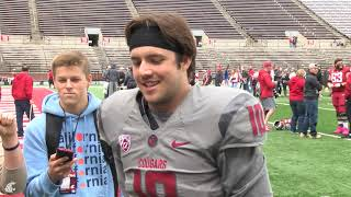 Download WSU Football: Trey Tinsley after Spring Game 4/20 Video