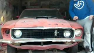Download Hithit.cz - Rekonštrukcia legendy , Ford Mustang 1969 Fastback Video