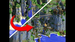 Minecraft PE Seeds - Extreme Hills, Flat Land Seed and Large