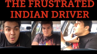 Download The frustrated indian driver Video