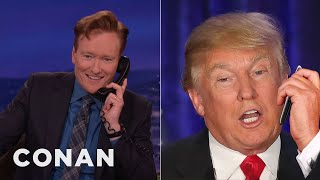 Download Donald Trump's Post-Iowa Call To Conan - CONAN on TBS Video