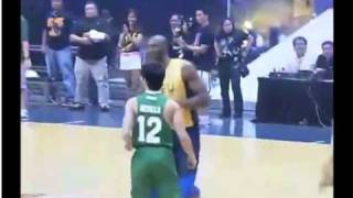 Download Kobe Bryant playing with UAAP All Stars vs Smart Gilas Video