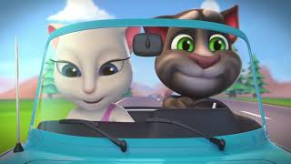 Download Talking Tom Shorts 20 - Hit the Road Video