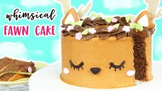 Download How to Make a Whimsical Deer Cake! 🌸 Video