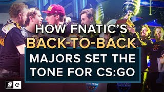Download How Fnatic's back-to-back Majors set the tone for CS:GO Video