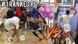 Download Julian Newman VS #1 RANKED PG JELLYFAM Noah Farrakhan! ELITE 2020 PG BATTLE! Video