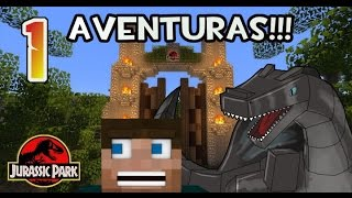 Download MAPA DE AVENTURAS DE JURASSIC PARK!!! MINECRAFT!! CON BLISTERING - Parte 1 Video
