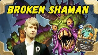 Download Savjz is trying new Shudderwock Broken shaman deck (The Witchwood) Video