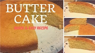 Download How to make butter cake- quick & easy moist butter cake recipe (Vanilla Cake) Video