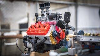 Download Working 3D-Printed Car Engine Models! Video