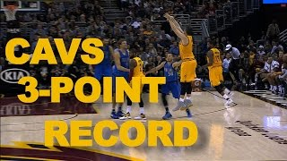 Download Cavaliers Record Setting 41 3-Pointers Through 2 Games Video