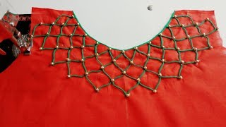 Download Latest and creative kurti neck design Video