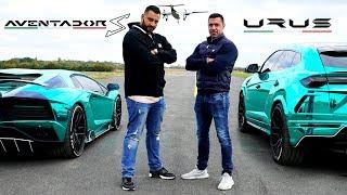 Download Aventador S vs Urus - DRAG RACE Video
