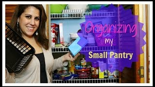 Download SMALL PANTRY ORGANIZATION!! Video