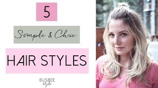 Download 5 Simple & Chic Hair Styles | Beauty Over 40 Video