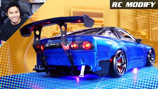 Download RC Modify 25 Part 2 | 180SX Rocket Bunny M-Drift 1 RWD 3D Printed Video