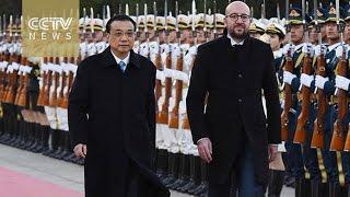 Download Chinese premier meets Belgian counterpart in Beijing Video