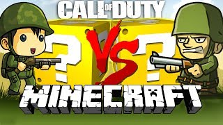 Download Minecraft: CALL OF DUTY WW2 LUCKY BLOCK CHALLENGE | CAPTURE THE POINTS!! Video
