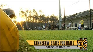 Download Kennesaw State Football Student Tryouts Video