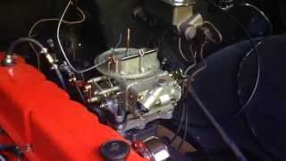 Download 1968 Chevy C10 Inline 6-250 Carb upgrade Install: Holley 350 CFM 2-barrel: Video part #1 Video