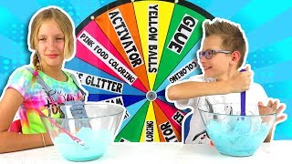 Download MYSTERY WHEEL OF SLIME CHALLENGE!!! Video
