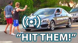 Download SMART ASS Self-Driving Car GONE CRAZY Prank!! Video