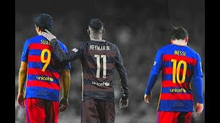 Download MSN - THE END... ● Messi, Suarez, Neymar ● The Greatest Football Trio Video
