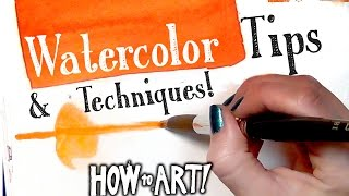 Download HOW TO ART - Watercolor Techniques Video