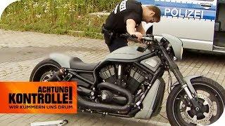 Download Zu laut & zu unsicher! Katastrophale Mängel bei Harley Davidson! | Achtung Kontrolle | kabel eins Video