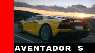 Download 2017 Lamborghini Aventador S Commercial Trailer Video
