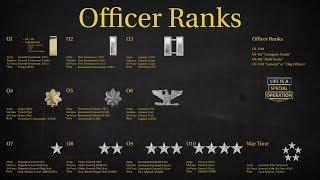 Download US Military (All Branches) Officer Ranks Explained - What is an Officer? Video
