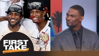 Download Chris Bosh on evolution of LeBron James: I'm amazed by what he can do | First Take | ESPN Video