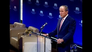 Download President Bush's remarks at The Spirit of Liberty: At Home, in the World Video