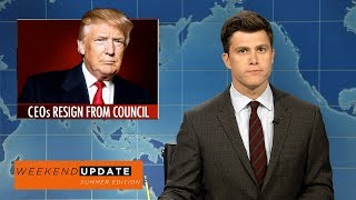 Download Weekend Update on CEOs Resigning from Trump's Economic Councils - SNL Video