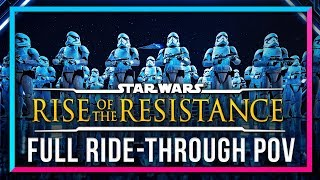 Download FULL RIDE THROUGH of Rise Of The Resistance at Walt Disney World - DSNY Newscast Video