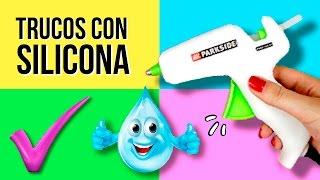 Download 10 TRUCOS con SILICONA que DEBES SABER! * Best Life hacks SILICON CALIENTE Video
