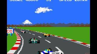 Download Arcade Game: Pole Position II (1983 Namco/Atari) Video
