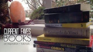 Download Current Favourite Books - Inspiration and Art Video