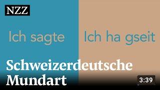 Download Schweizerdeutsch: Warum es vielen Deutschen Mühe bereitet Video
