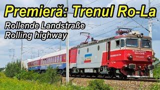 Download Premiera: Trenul Ro-La,Rolling highway,Rollende Landstraße Video