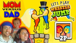 Download Lets Play WRESTLE JUMP! MOM vs. DAD : You May Now Wrestle The Bride! (FGTEEV Gameplay) Video