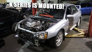 Download Making Motor Mounts for the K Swapped STI! Video