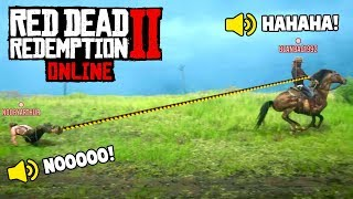 Download RED DEAD 2 ONLINE IS INSANE! (Fails & Funny Moments #4) Video