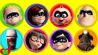 Download The Incredibles 2 Play Doh Surprises Learn Colors Video