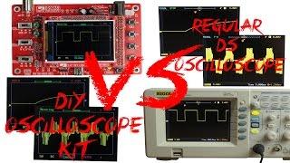 Download DIY Oscilloscope Kit (20$) VS Regular DS Oscilloscope (400$) Video