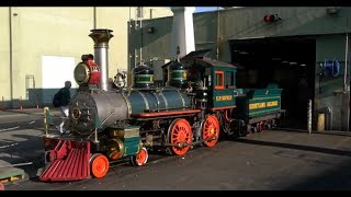 Download Behind the scenes at the Disneyland Railroad Video